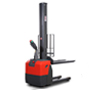 Monomast electric stacker